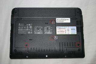 Gateway LT2100-51R(背面)